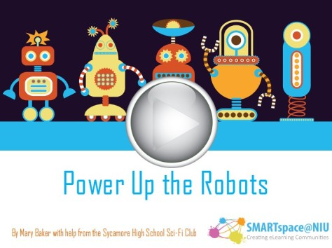 Power Up the Robots Online Game